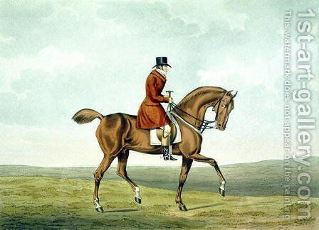 A Meltonian, As He Was, from 'The Meltonians' 1823 by Henry Thomas Alken - Reproduction Oil Painting