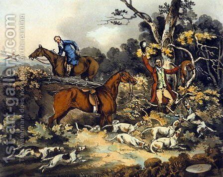 The Death, from 'Fox Hunting' by Henry Thomas Alken - Reproduction Oil Painting
