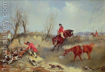 The Kill by Henry Thomas Alken - Reproduction Oil Painting