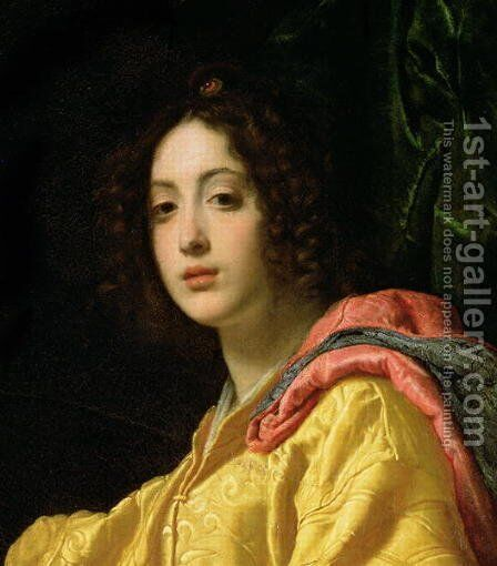 Judith and Holofernes 1599 by Cristofano Allori - Reproduction Oil Painting