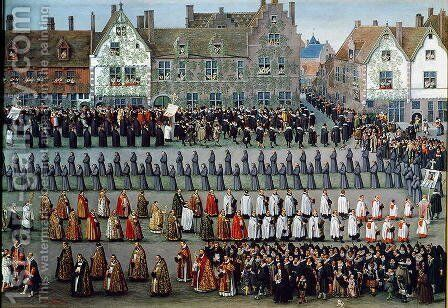 The Triumph of the Archduchess Isabella (2) by Denys Van Alsloot - Reproduction Oil Painting