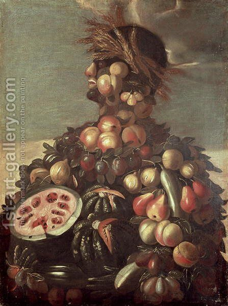 Summer (4) by Giuseppe Arcimboldo - Reproduction Oil Painting