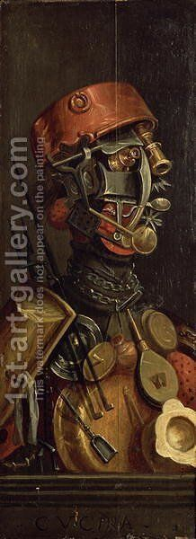 The Cook by Giuseppe Arcimboldo - Reproduction Oil Painting