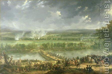Battle of Pont d'Arcole, 15th-17th November 1796, 1803 by Baron Louis Albert Bacler d'Albe - Reproduction Oil Painting