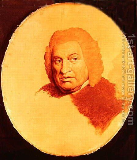 Portrait of Samuel Johnson by James Barry - Reproduction Oil Painting