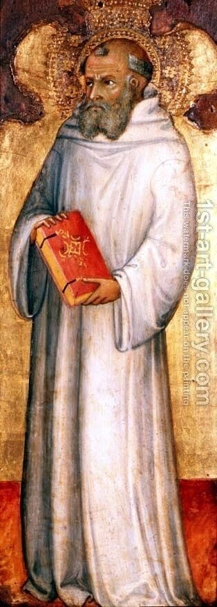 St. Benedict, Founder of Oldest Order by Andrea Di Bartolo - Reproduction Oil Painting