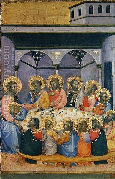 The Last Supper, c.1420 by Andrea Di Bartolo - Reproduction Oil Painting