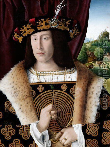 Portrait of a Man by Bartolomeo Veneto - Reproduction Oil Painting