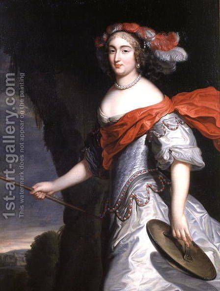 La Grande Mademoiselle by Charles Beaubrun - Reproduction Oil Painting