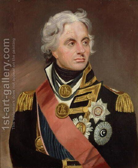 Lord Nelson by Sir William Beechey - Reproduction Oil Painting