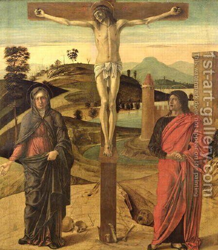Calvary, c.1465-70 by Giovanni Bellini - Reproduction Oil Painting