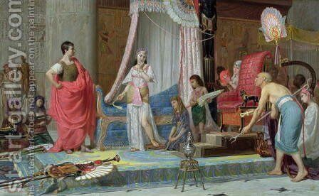 Cleopatra, 1879 by A. Benini - Reproduction Oil Painting