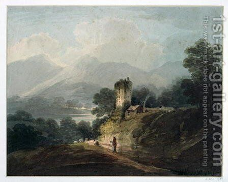 Ross Castle, Killarney, County Kerry by James Baynes - Reproduction Oil Painting