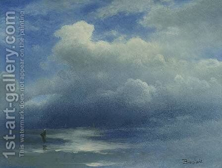 Sea and Sky by Albert Bierstadt - Reproduction Oil Painting