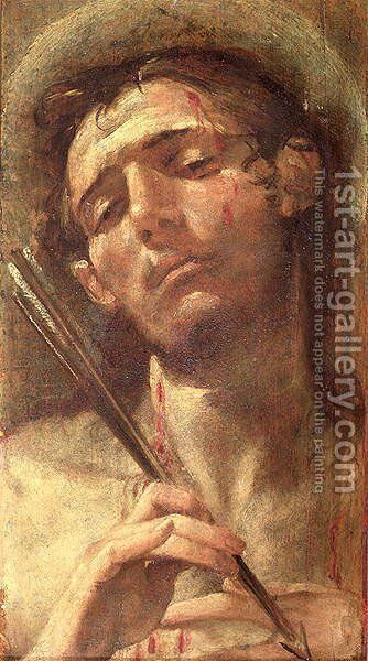 St. Sebastian by Andrea Boscoli - Reproduction Oil Painting