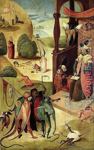 St.James and the Magician by Hieronymous Bosch - Reproduction Oil Painting