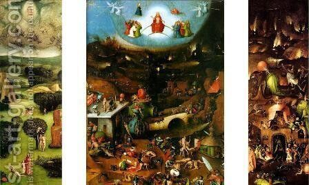 The Last Judgement (1) by Hieronymous Bosch - Reproduction Oil Painting