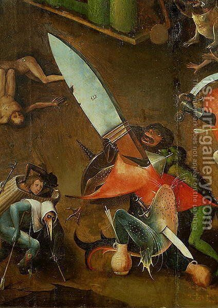 The Last Judgement (2) by Hieronymous Bosch - Reproduction Oil Painting