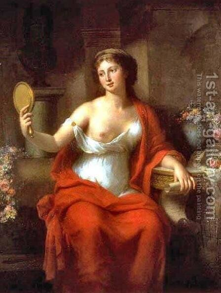 Aspasia, 1794 by Marie Genevieve Bouliard - Reproduction Oil Painting
