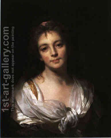 Self-Portrait by Marie Genevieve Bouliard - Reproduction Oil Painting