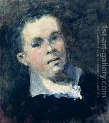 Head of Goya by Hercules Brabazon Brabazon - Reproduction Oil Painting