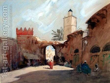 Tangiers (1) by Hercules Brabazon Brabazon - Reproduction Oil Painting