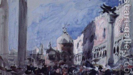 Venice by Hercules Brabazon Brabazon - Reproduction Oil Painting