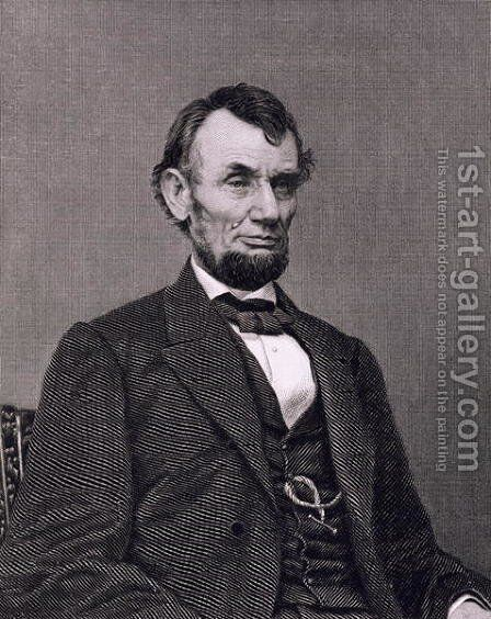 Abraham Lincoln by Mathew Brady - Reproduction Oil Painting