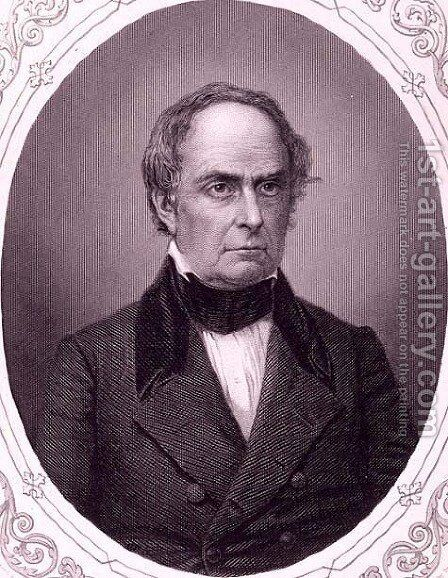 Daniel Webster by Mathew Brady - Reproduction Oil Painting