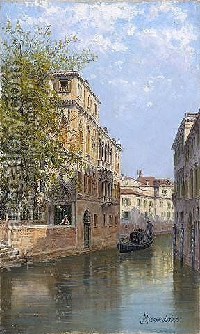 Palazzo Wanaxel by Antonietta Brandeis - Reproduction Oil Painting
