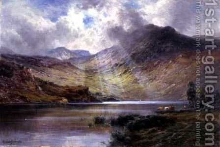 Ben Lomond by Alfred de Breanski - Reproduction Oil Painting
