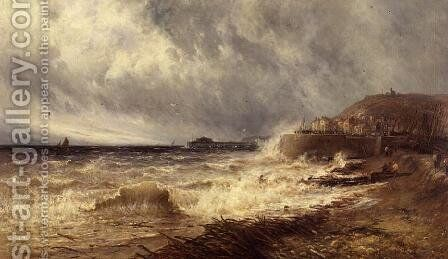 Hastings 1884 by Gustave de Breanski - Reproduction Oil Painting