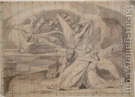 Study for The Death of Moses, 1851 by Alexandre Cabanel - Reproduction Oil Painting