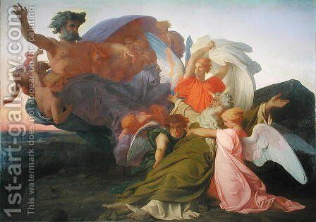 The Death of Moses, 1851 2 by Alexandre Cabanel - Reproduction Oil Painting