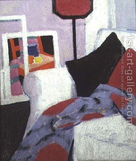 The White Sofa, 7 Ainslie Place, c.1915 by Francis Campbell Boileau Cadell - Reproduction Oil Painting