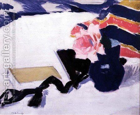 The Rose and the Black Ribbon by Francis Campbell Boileau Cadell - Reproduction Oil Painting