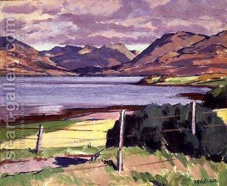 Loch Creran, Argyll by Francis Campbell Boileau Cadell - Reproduction Oil Painting