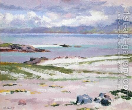 Iona, 1928 by Francis Campbell Boileau Cadell - Reproduction Oil Painting