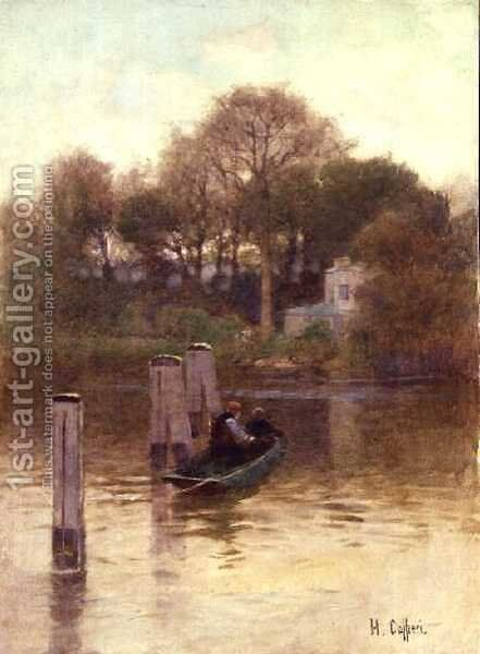 The Ferryman by Hector Caffieri - Reproduction Oil Painting