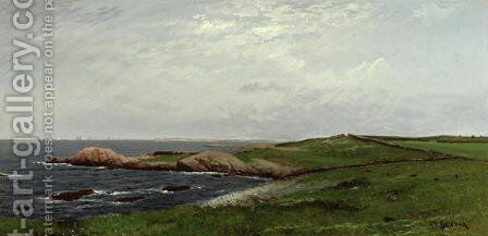 New England Coast by Alfred Thompson Bricher - Reproduction Oil Painting