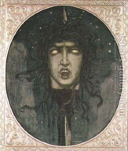 Medusa, 1919 by Glauco Cambon - Reproduction Oil Painting