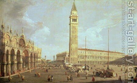 Towards St.Mark's by (Giovanni Antonio Canal) Canaletto - Reproduction Oil Painting