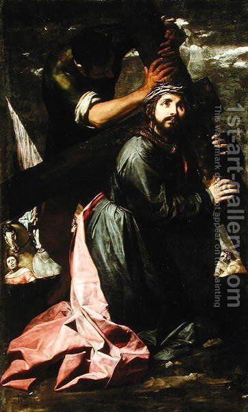 Christ Bearing the Cross (Via Dolorosa) by Alonso Cano - Reproduction Oil Painting
