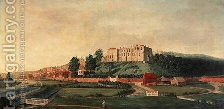 Arundel Castle from the East, c.1770 by James Canter - Reproduction Oil Painting