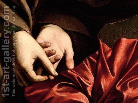 The Conversion of the Magdalen, 1597-98 (detail) by Caravaggio - Reproduction Oil Painting