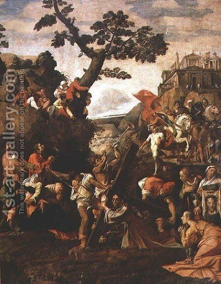 On the Road to Calvary by Caravaggio - Reproduction Oil Painting