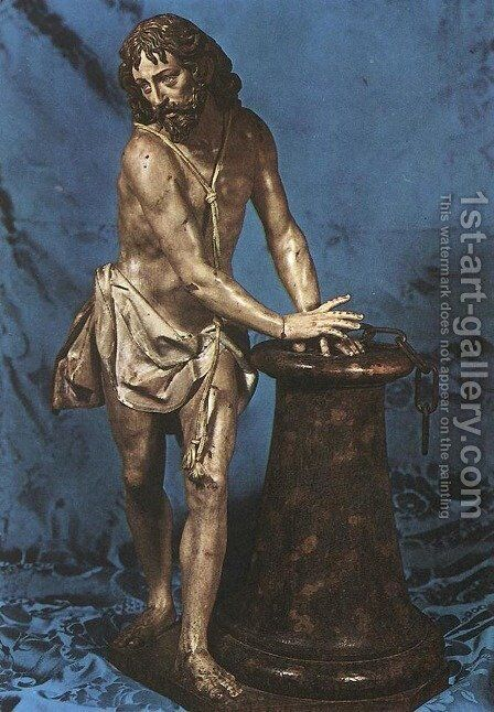 Christ at the Column by Gregorio Fernandez - Reproduction Oil Painting