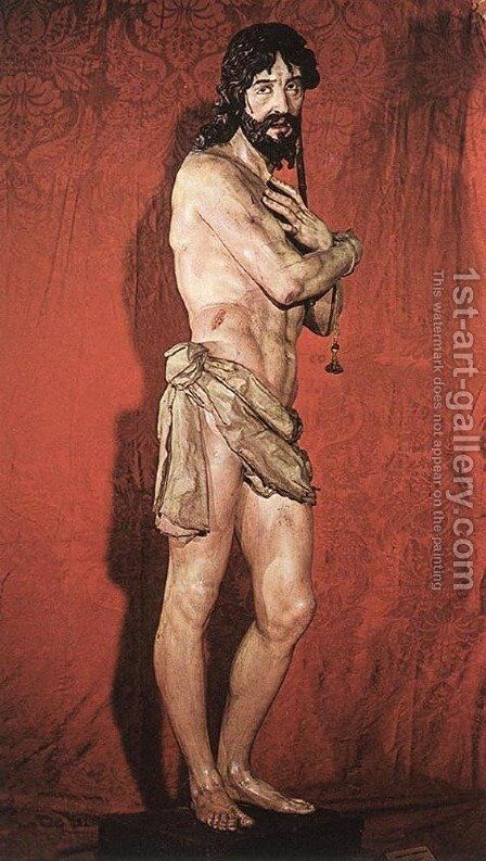Ecce Homo by Gregorio Fernandez - Reproduction Oil Painting
