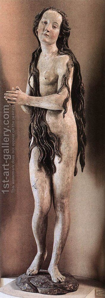 Mary Magdalene by Gregor Erhart - Reproduction Oil Painting