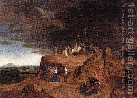 Crucifixion by Cornelis Massys - Reproduction Oil Painting
